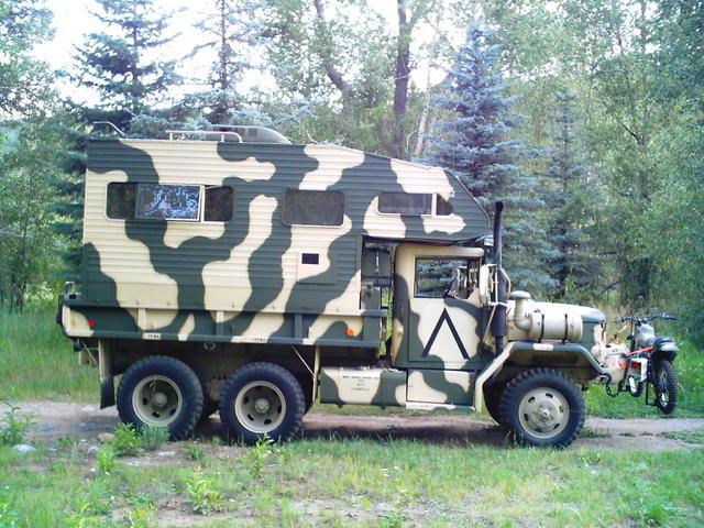 M35A2 Camper