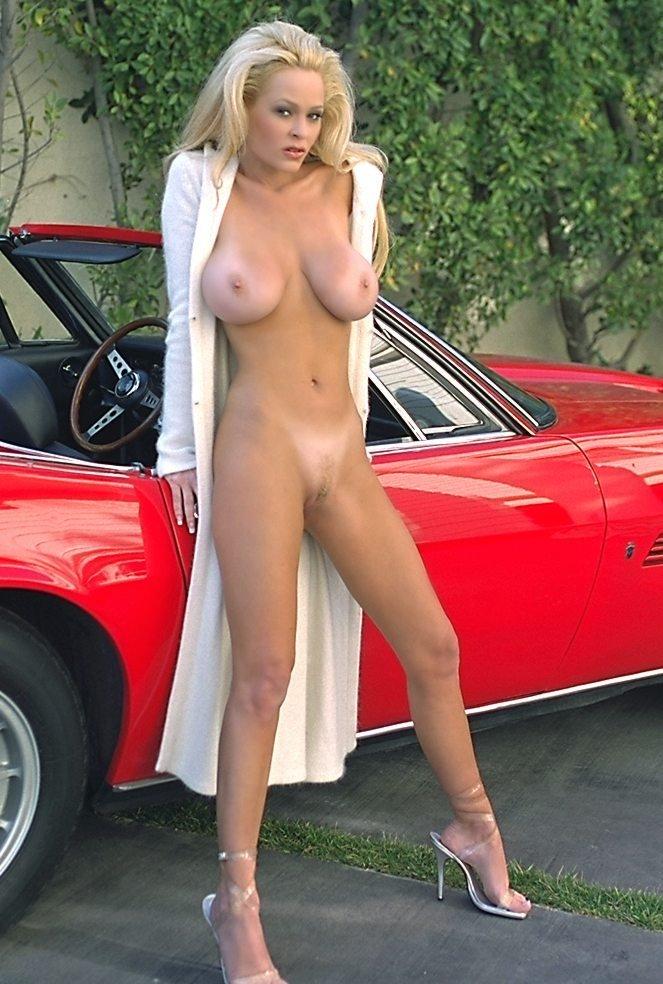 Girl & Ferrari
